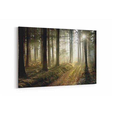 Issız Orman Kanvas Tablosu