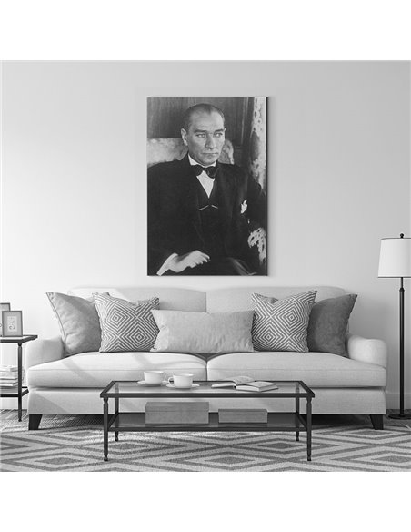 Mustafa Kemal Atatürk Kanvas Tablo Kanvas Tablo