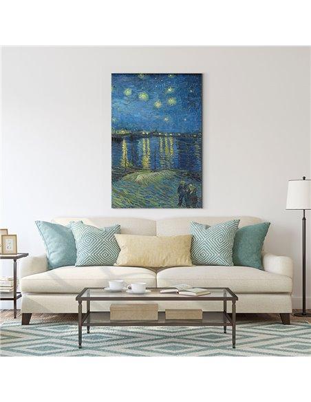 Starry Night Over the Rhone Kanvas Tablo
