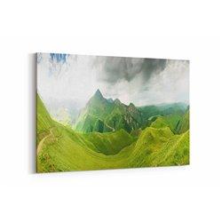 Panoramik Manzara Kanvas Tablosu