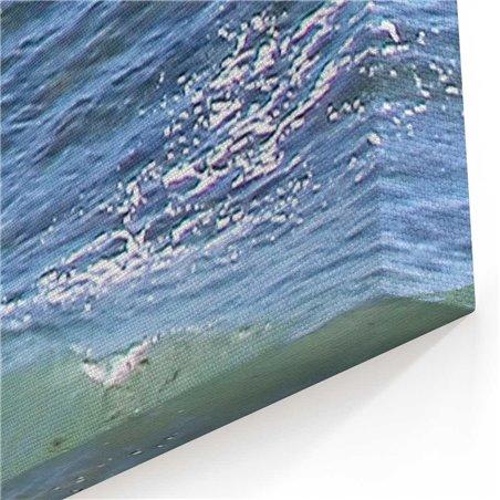 Kıyıya Vuran Dalgalar Kanvas Tablosu