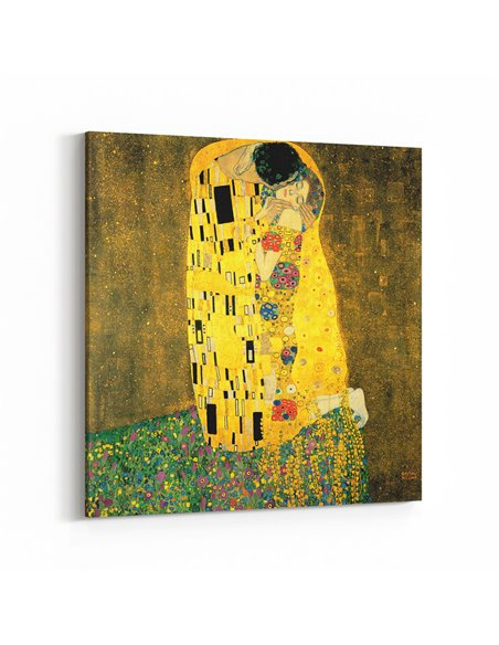 The Kiss - Gustav Klimt Kanvas Tablo