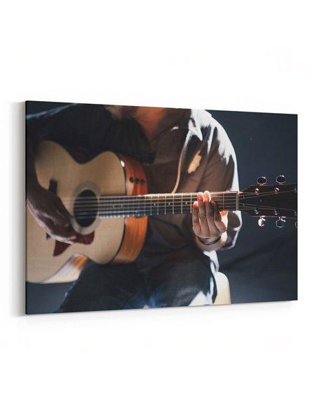 Gitarist Kanvas Tablo