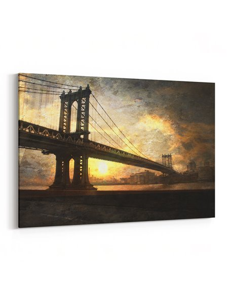 Eski Köprü Kanvas Tablo