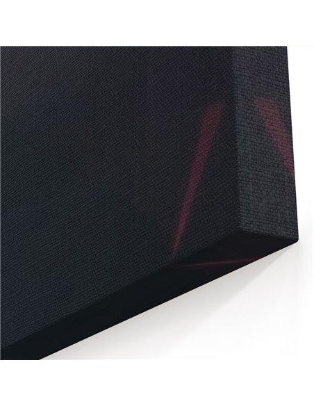 The Retrowave Door Kanvas Tablo