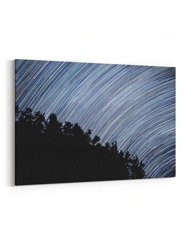 Gece Yıldızlar Kanvas Tablo