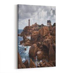 Deniz Feneri Kanvas Tablosu