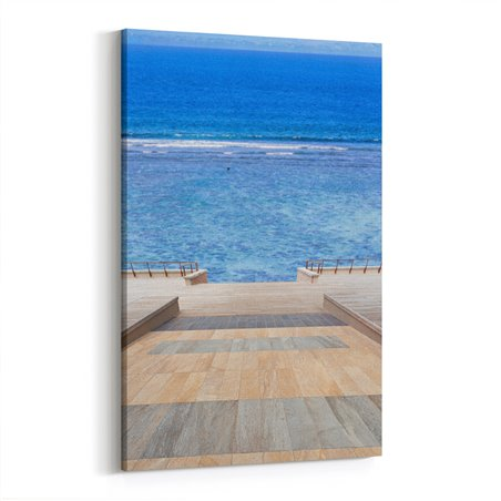 Mavi Okyanus Kanvas Tablosu
