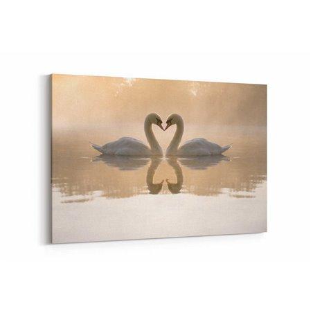 Flamingolar Kanvas Tablosu