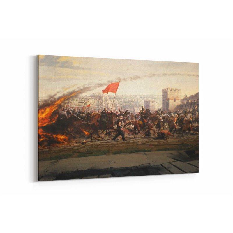 Fetih 1453 Kanvas Tablosu