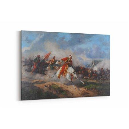 Mohaç Meydan Muharebesi Kanvas Tablosu
