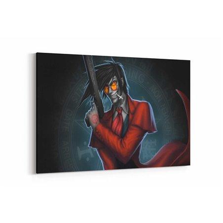 Hellsing Alucard Kanvas Tablosu