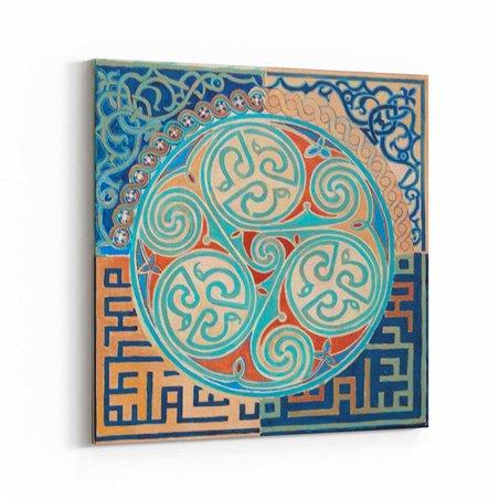 İslami Desen Kanvas Tablo