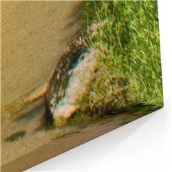 Sarp kayalar Kanvas Tablosu