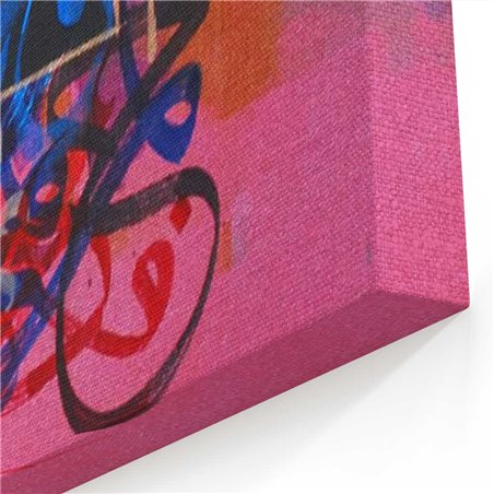 Yeni Kaligrafi Arapça Kanvas Tablo