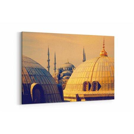 Sultan Ahmet Camii Manzara Kanvas Tablo