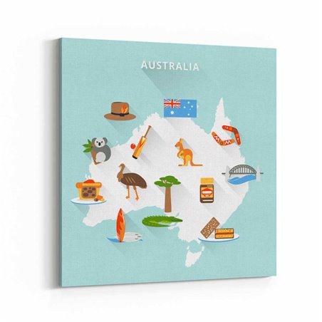Avustralya Kanvas Tablo