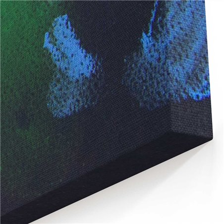 Yağlı Boya Görünümlü Bukalemun Kanvas Tablo