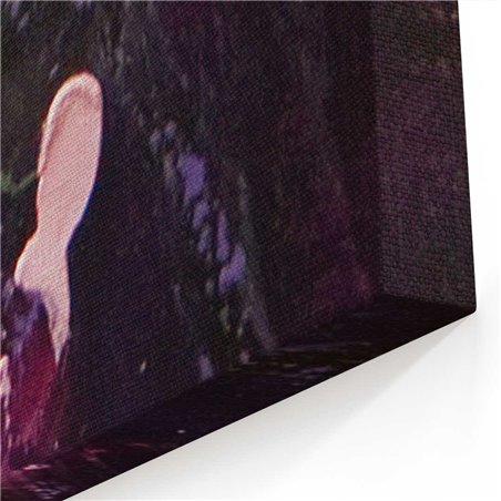 Yağlı Boya Görünümlü Kadın Kanvas Tablo