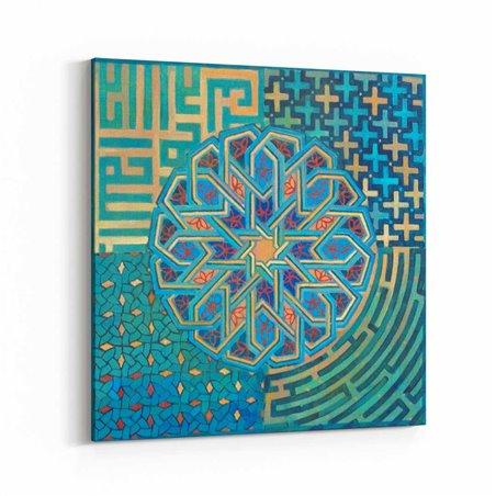 Osmanlı Motif Sanatı Kanvas Tablo