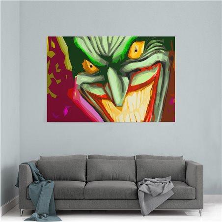 Joker İllüstrasyon Kanvas Tablo