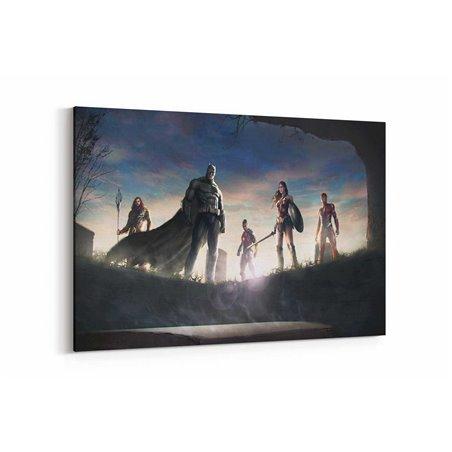 Justice League  Kanvas Tablo