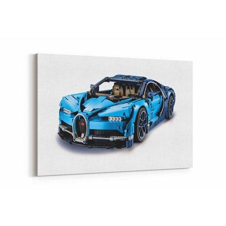 Lego Bugatti Chiron Kanvas Tablo