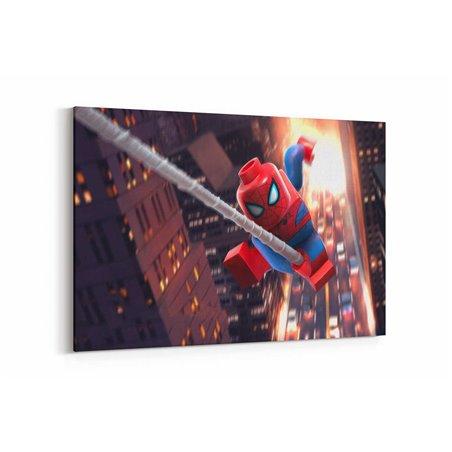 Lego Spiderman Kanvas Tablo