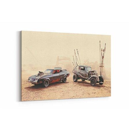 Mad Max Furry Road Araçlar Kanvas Tablo
