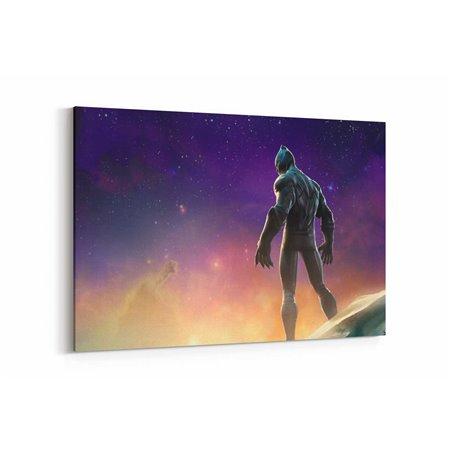 Marvel Black Panter Kanvas Tablo