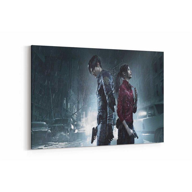 Resident Evil 2 Kanvas Tablo