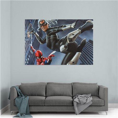 Spiderman Art Kanvas Tablo