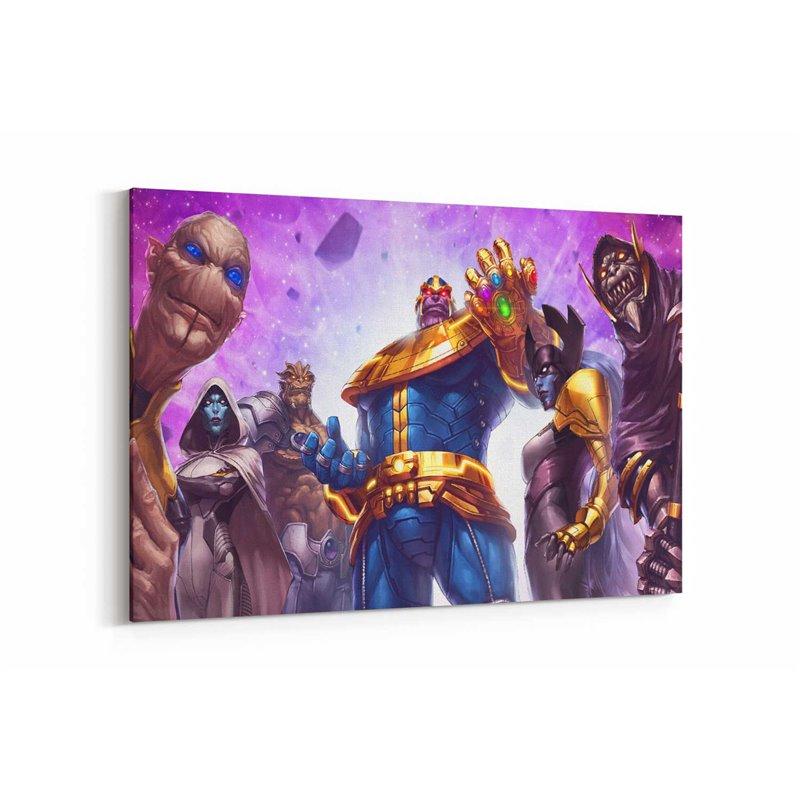 Thanos and Team Kanvas Tablo