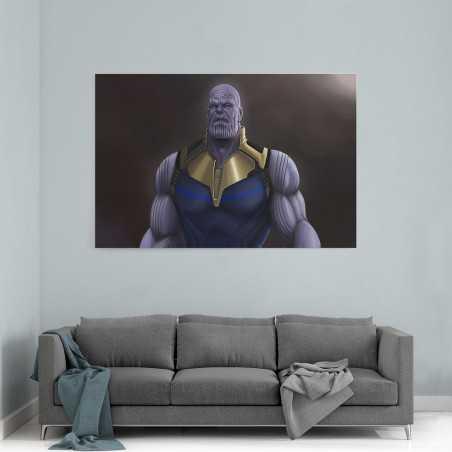 Thanos Çizim Kanvas Tablo