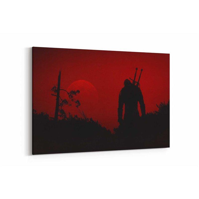 The Witcher 3 Poster Kanvas Tablo