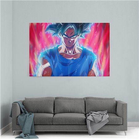 Ultra Instinct Goku Kanvas Tablo