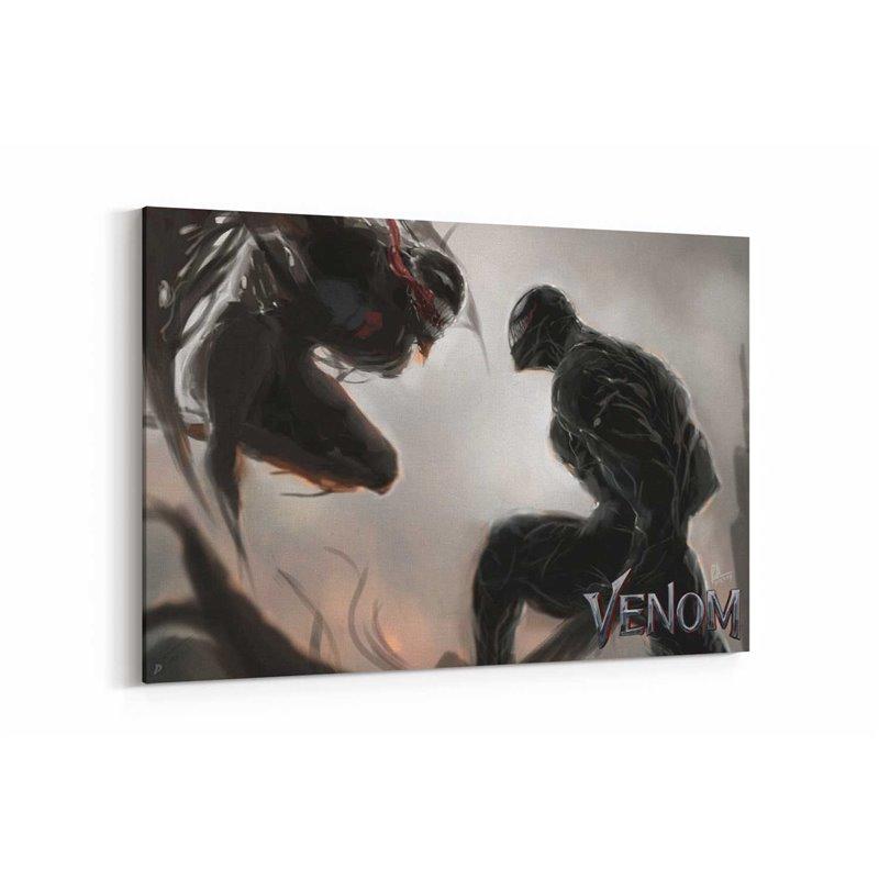 Venom vs Riot Kanvas Tablo