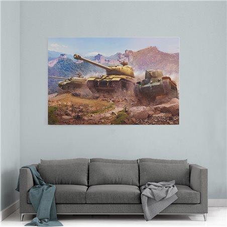 World Of Tanks Kanvas Tablo
