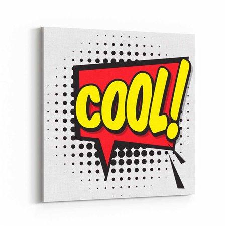 PopArt Cool! Kanvas Tablo