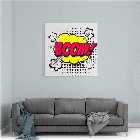 PopArt Boom! Kanvas Tablo