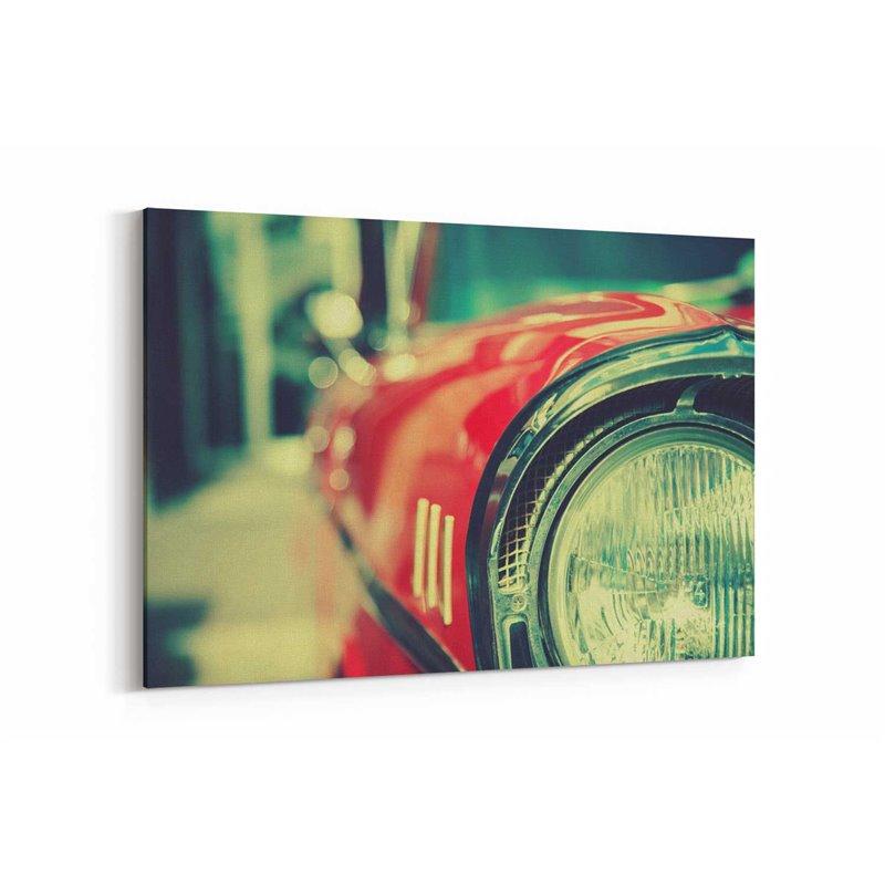 Kırmızı Far Kanvas Tablo