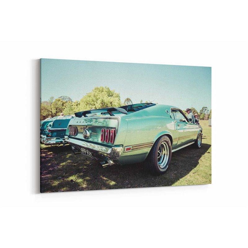 Mustang Kanvas Tablo