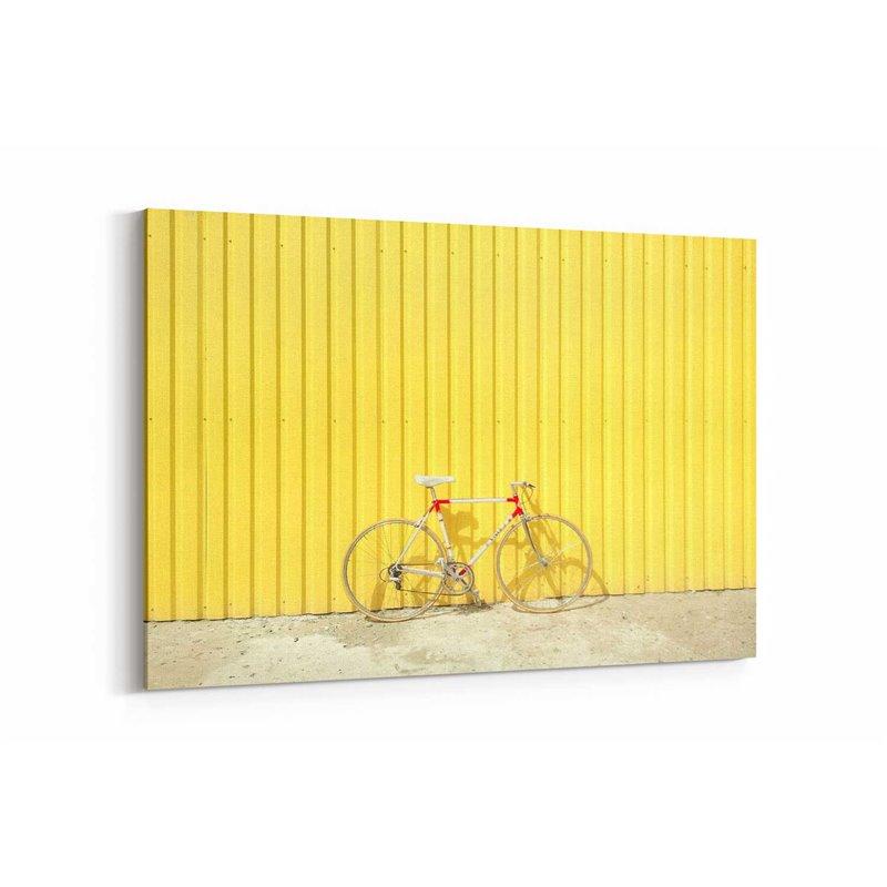 Vintage Bisiklet Kanvas Tablo