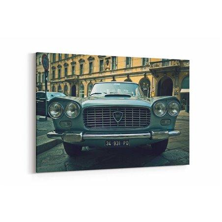 Lancia Retro Kanvas Tablo