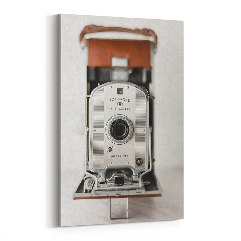 Retro Polaroid Kanvas Tablo