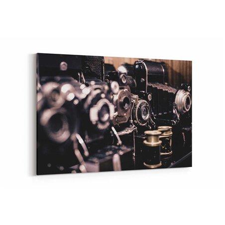 Eski Kameralar Kanvas Tablo