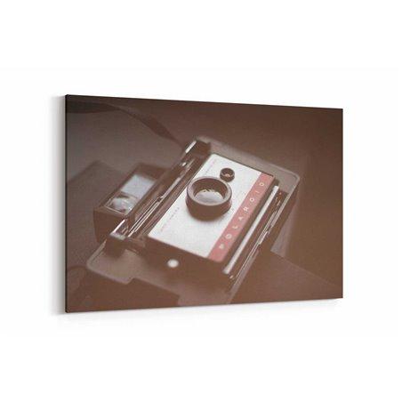 Eski Polaroid Kanvas Tablo