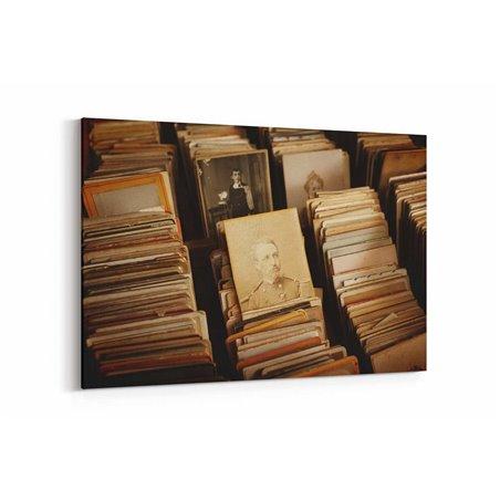 Eski Fotoğraflar Kanvas Tablo