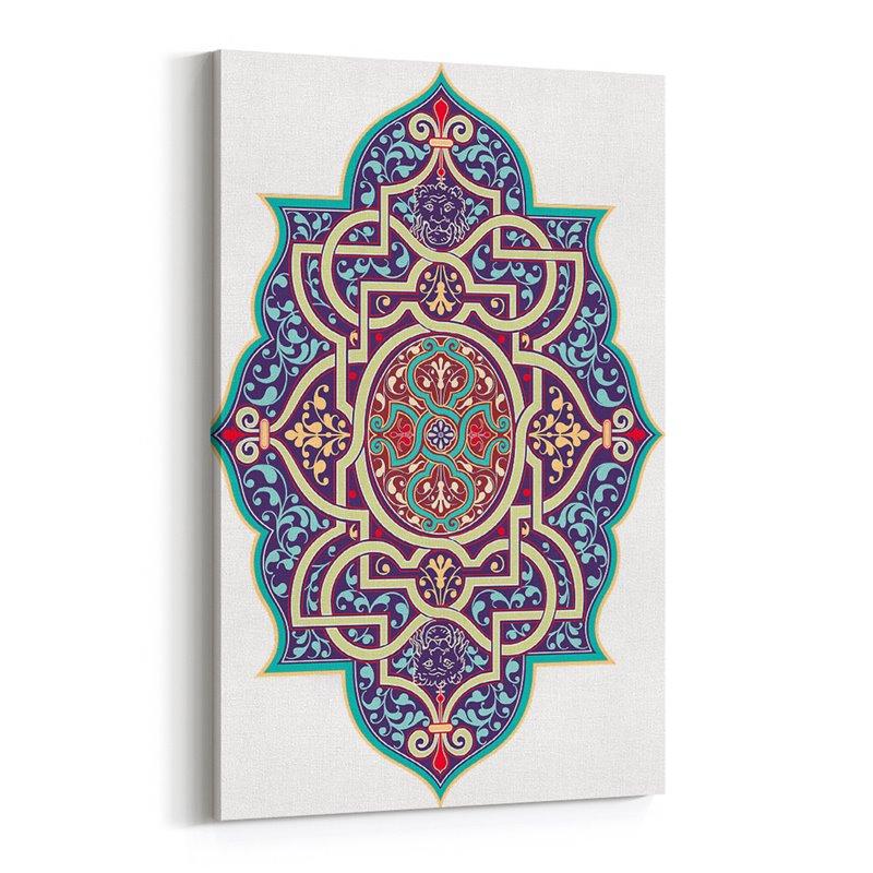 Osmanlı Desen ve Motif Kanvas Tablosu