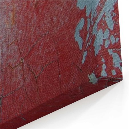 Kırmızı Wolksvagen Kanvas Tablo
